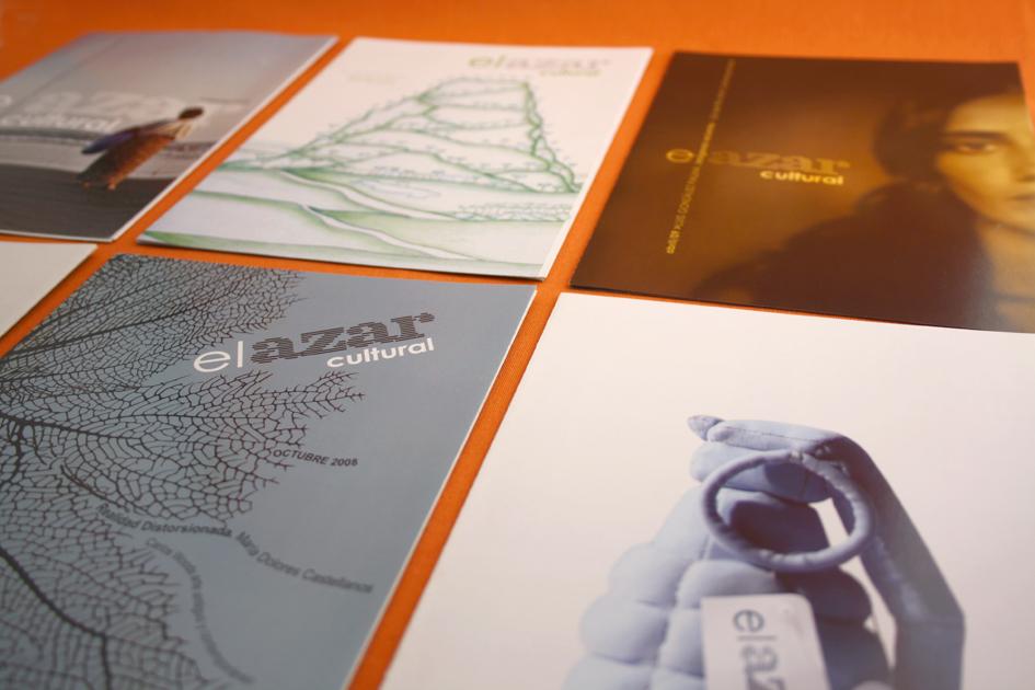 El Azar Cultural / Diseño: Ximena Chapero