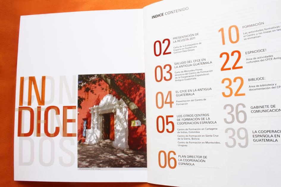 Revista CFCE / Diseño: Ximena Chapero