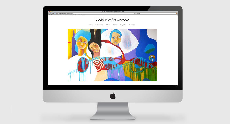 Web Lucia Moran / Ximena Chapero