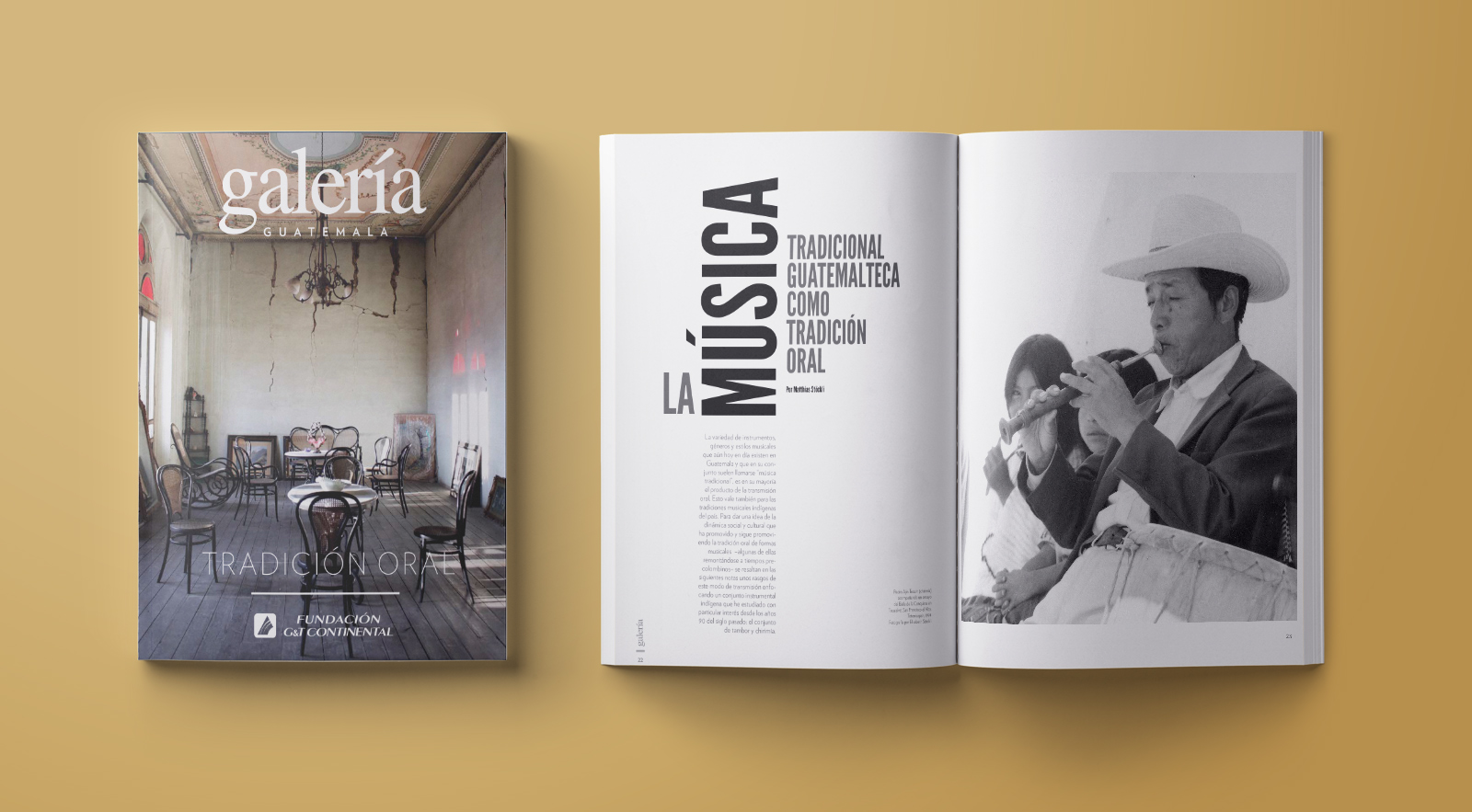 Revista Galería / / Diseño: Ximena Chapero