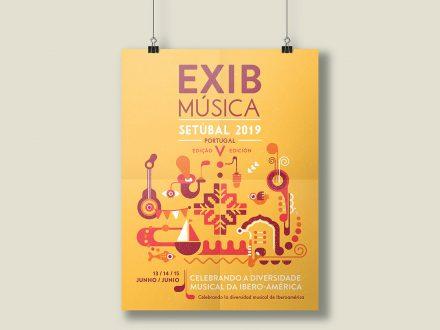 Cartel Exib Música