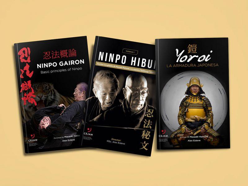 Libros Artes Marciales / Diseño: Ximena Chapero