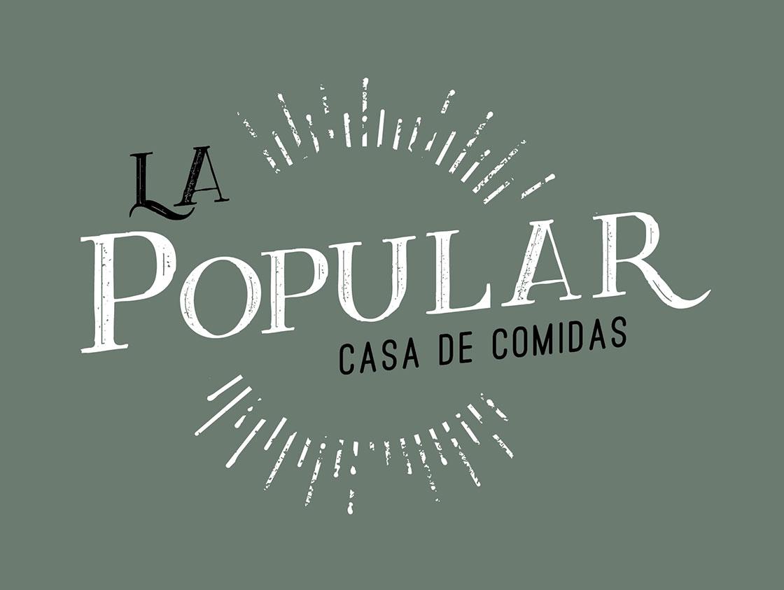 Branding La Popular / Diseño: Ximena Chapero