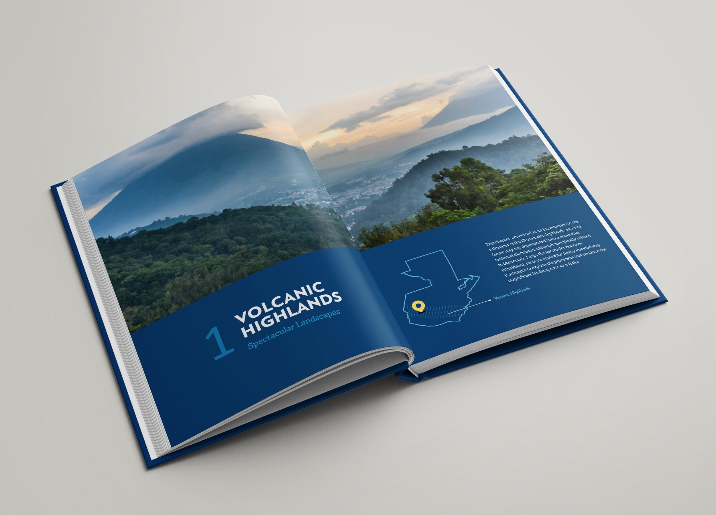 In the volcanic mountains /Diseño: Ximena Chapero